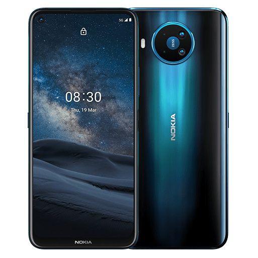 Nokia 8.3 5G 128GB + Power Earbuds Lite für 4,95€ + o2 Allnet Flat mit 12GB LTE für 19,99€ mtl.