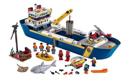 LEGO City 60266 Meeresforschungsschiff für 84,90€ (statt 94€)