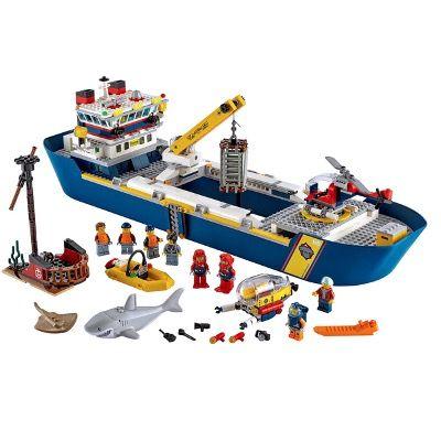 LEGO City 60266 Meeresforschungsschiff für 84,99€ (statt 94€)