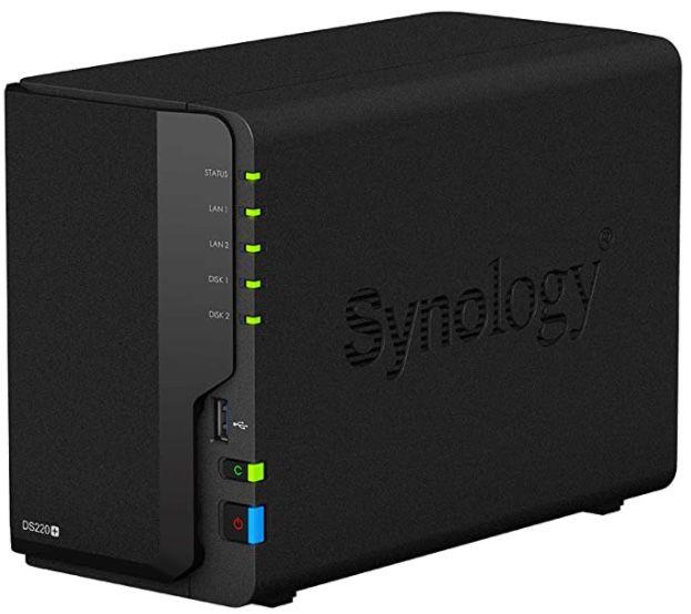 Synology DS220+ Leergehäuse für 295,42€ (statt 320€)