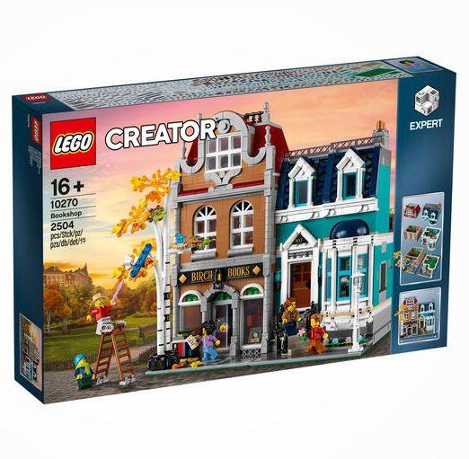 LEGO Creator – Buchhandlung (10270) für 139€ (statt 159€)