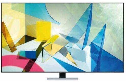 Samsung GQ55Q84T   55 Zoll QLED UHD Fernseher (Modell 2020) für 973,82€ (statt 1.099€) + gratis Galaxy A51 (Wert 230€)