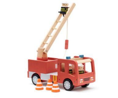 Kids Concept Feuerwehrauto aus Holz für 36,80€ (statt 49€)