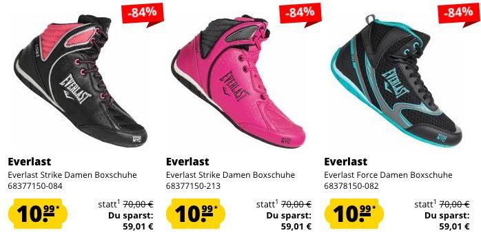 Everlast Damen Boxschuhe für je 10,99€ + VSK (statt 25€)