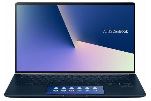 Asus ZenBook UX434 14 Zoll Full HD (8GB, 512GB SSD, ScreenPad, Win10) für 799,90€ (statt 1.049€)