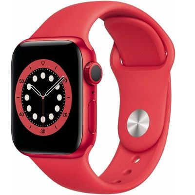 Apple Watch Series 6 (GPS) 40mm Aluminium mit Sportarmband für 369,90€ (statt 400€)