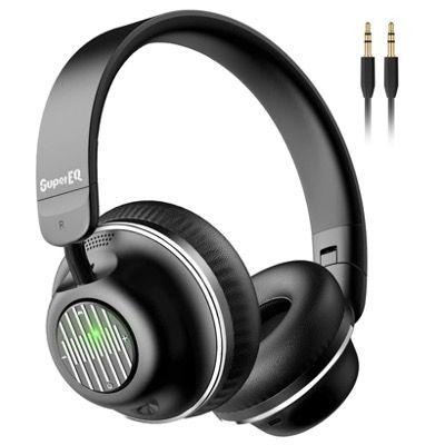 SuperEQ Active Noise Cancelling Kopfhörermit BT 5.0 & Mikrofon für 29,99€ (statt 50€)
