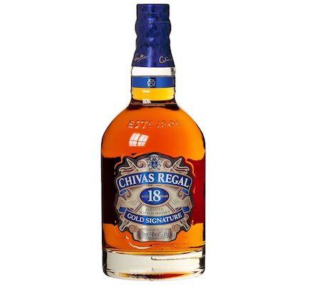 Chivas Regal 18 Jahre Gold Signature Blended Scotch Whisky für 38,99€(statt 50€)