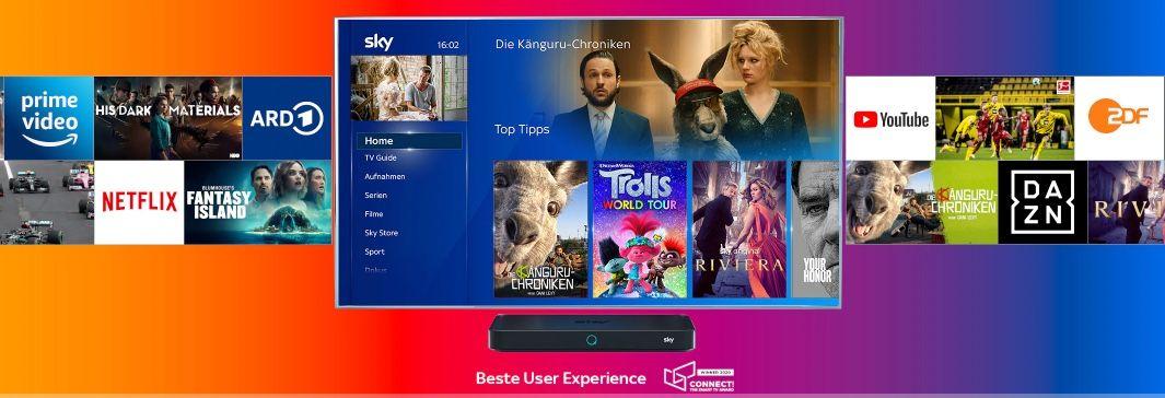 Sky: Partnerschaft mit Amazon bringt Prime Video auf euer Sky Gerät