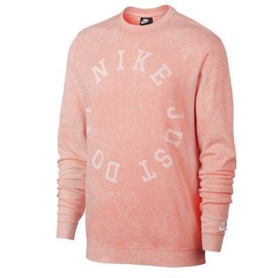 Nike NSW Sweatshirt Herren in Pfirsich für 14,99€ zzgl. 3,90 Versand (statt 45€)