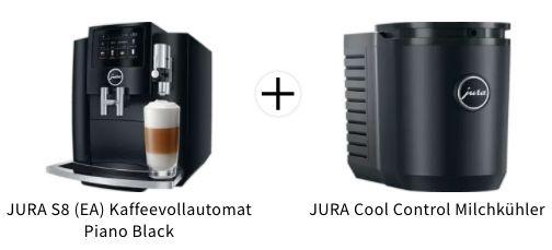 JURA S8 (EA) Kaffeevollautomat (2020) + Milchkühler für 1.289€ (statt 1.448€)