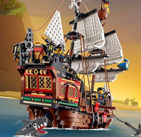 LEGO 31109 Creator 3-in-1 Piratenschiff für 64,99€ (statt 76€)