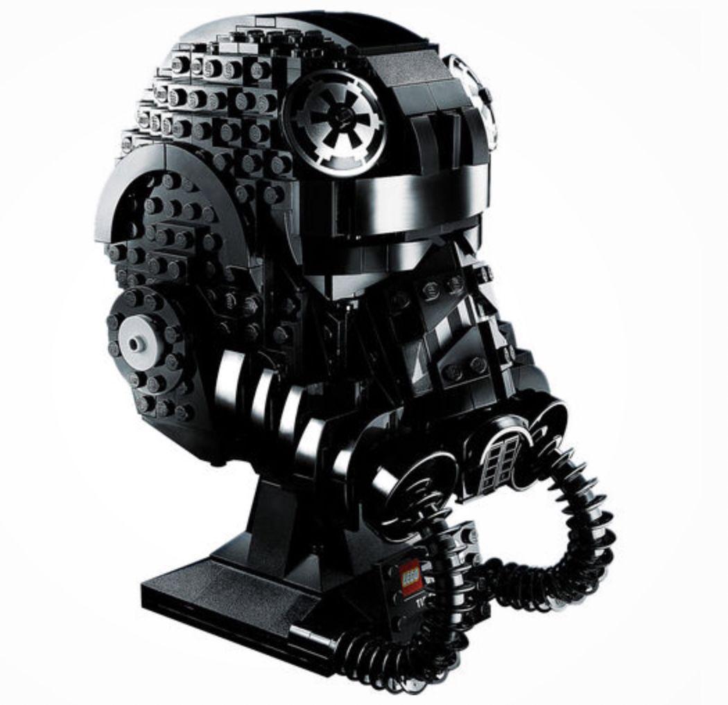 LEGO Star Wars   TIE Fighter Pilot Helm für 43,86€ (statt 73€)