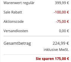 JOOP! Parka Orato aus wasserabweisendem Material in Marineblau für 224,99€ (statt 299€)