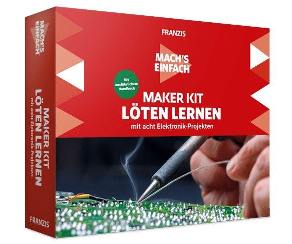 Franzis Maker Kit Löten lernen (ab 14 Jahren) für 15€ (statt 30€)