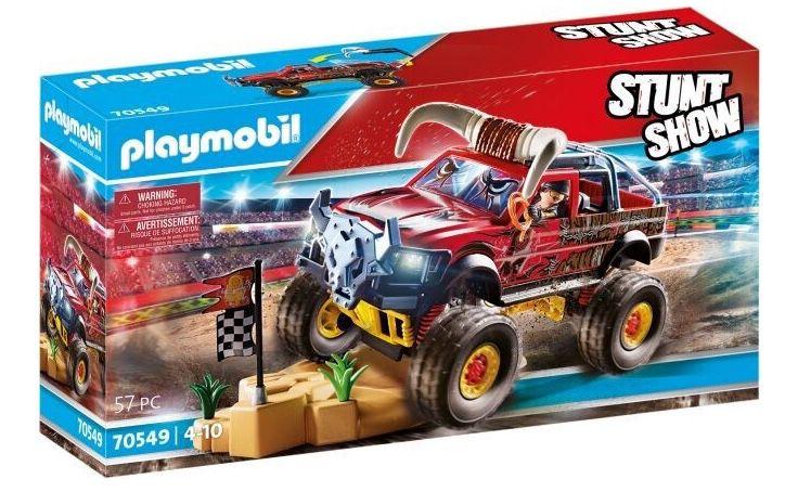 Playmobil Stuntshow   Monster Truck Horned (70549) für 19,44€ (statt 40€)