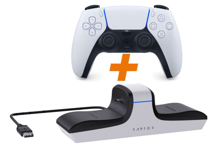 Sony PlayStation 5 DualSense Wireless Controller + Dual Ladestation für 80,99€ (statt 97€)