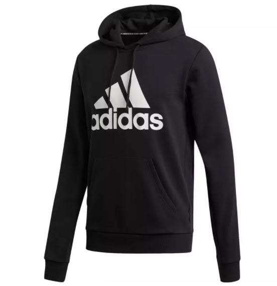 adidas Badge of Sports Hoodie in Schwarz für 28,90€ (statt 37€)