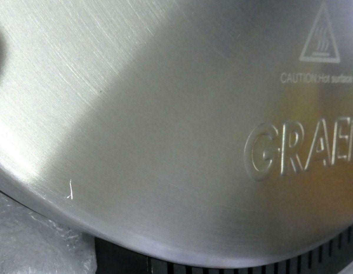 Graef WA80 Waffeleisen für 56,90€ (statt 86€)   Neuware mit möglichen Kratzern