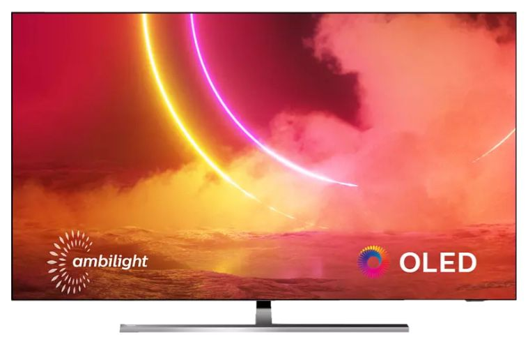 Philips 65OLED855   65 Zoll OLED UHD Fernseher mit 3 seitigem Ambilight für 1.618,90€ (statt 1.950€)