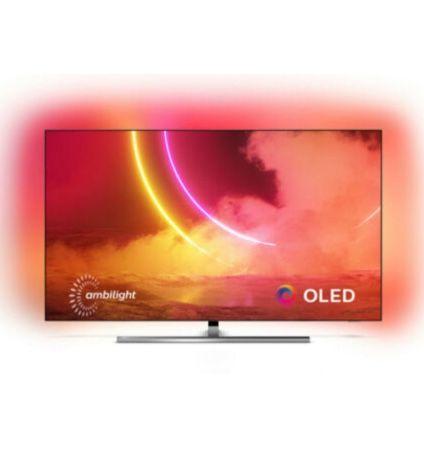 Philips 65OLED855 – 65 Zoll OLED UHD Fernseher mit 3-seitigem Ambilight für 1.469€ (statt 1.799€)