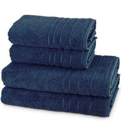 Möve 4er Handtuch Set Perlstruktur aus 100% Baumwolle (2x 50x100cm + 2x 67x140cm) für 54,90€ (statt 69€)