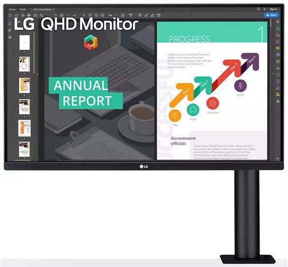 LG Ergo 27 Monitor 27QN880 B LCD Display für 393,91€ (statt 449€)