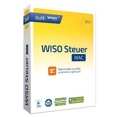 WISO Steuer Sparbuch 2021 (Steuerjahr 2020) PC und Mac ab 19,99€ (statt 23€)