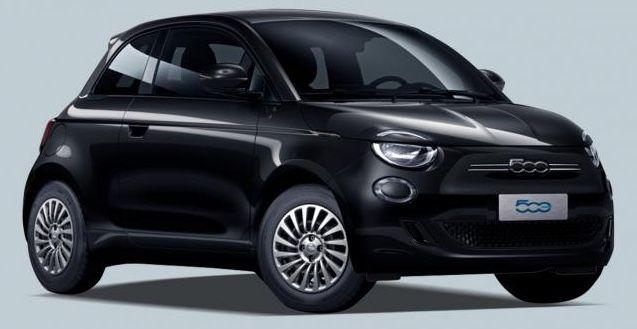 Fiat 500 Elektro mit 95 PS für 98€ mtl.   LF: 0.40