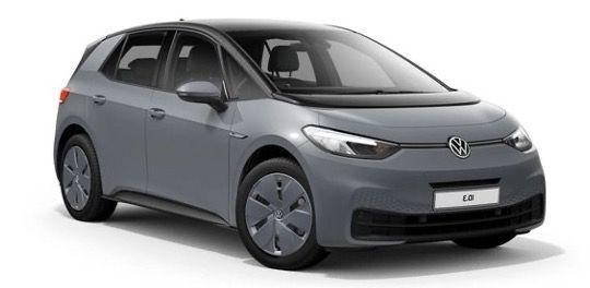 Gewerbe: Volkswagen ID3 Pro Elektro mit 145PS in Mondsteingrau für 95,12€ brutto mtl.   LF 0,30