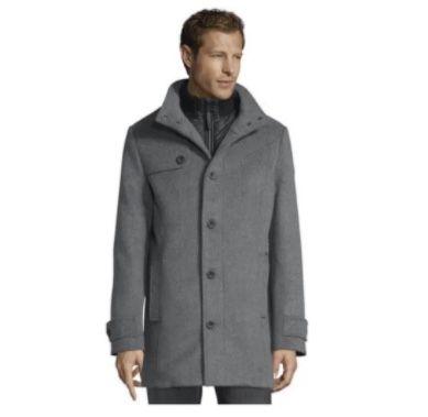 Tom Tailor Wollmantel mit gesteppter Unterjacke bis 2XL für 71,99€ (statt 160€)