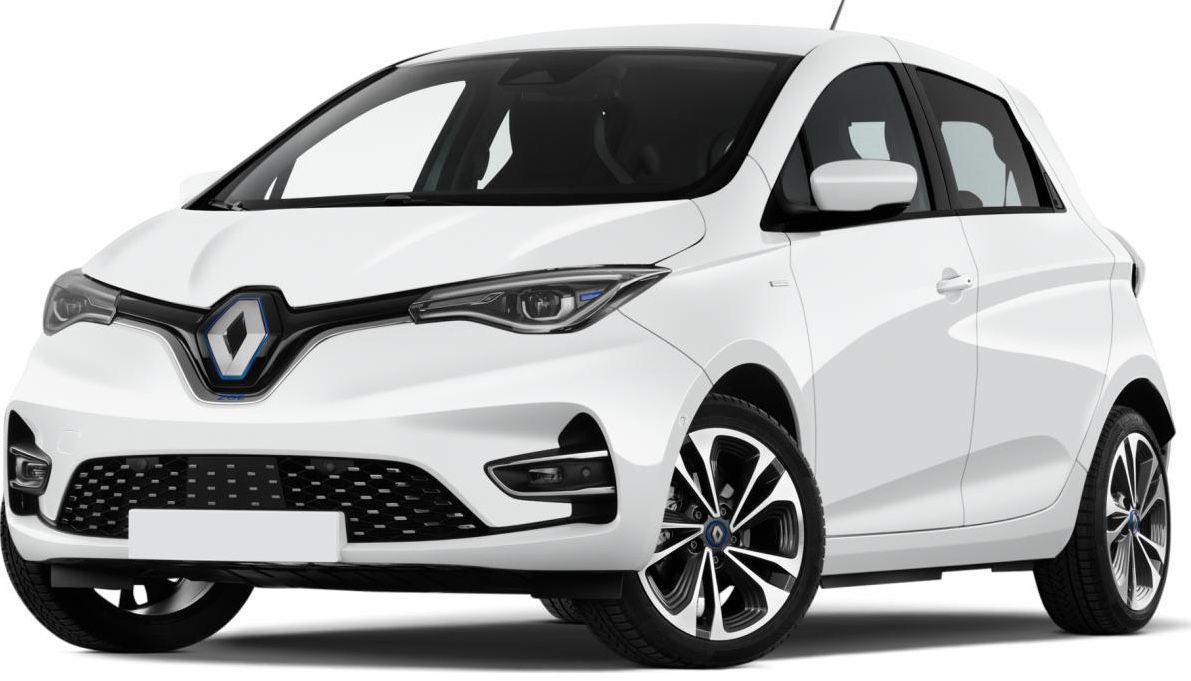 Privat&Gewerbe: Renault Zoe Elektro R110 mit 109 PS inkl. Batteriemiete für 87€ mtl.   LF 0,54