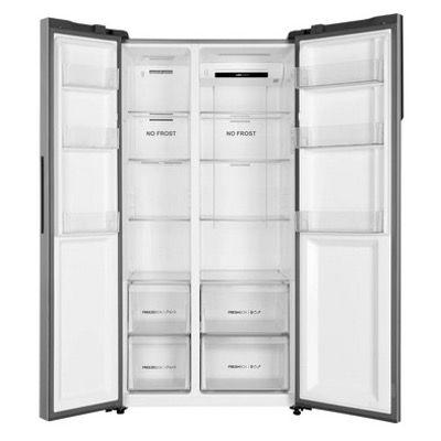Haier HSR3918FNPG Side by Side Kühlschrank mit Gefrierteil, No Frost und Multi Airflow für 479,90€ (statt 599€)