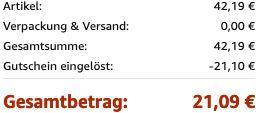 Hanke Handgepäck Trolley 54x34x22 mit TSA Schloss und 360° Flüsterrollen für 21,09€ (statt 42€)