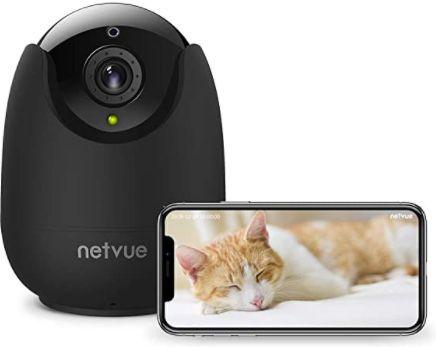 NETVUE 1080P WLAN Kamera mit Zwei Wege Audio für 24,99€ (statt 40€)   Prime