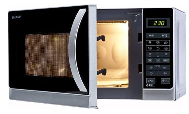 Sharp R642INW Mikrowelle mit Grill für 59€(statt 82€)