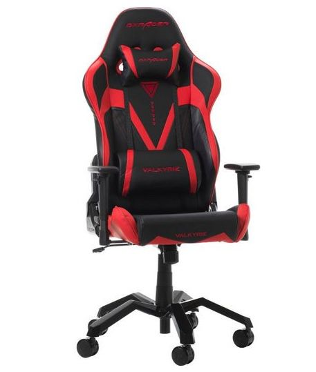 DXRacer Valkyrie Gaming Stuhl in Rot aus PU Leder für 255,48€(statt 333€)