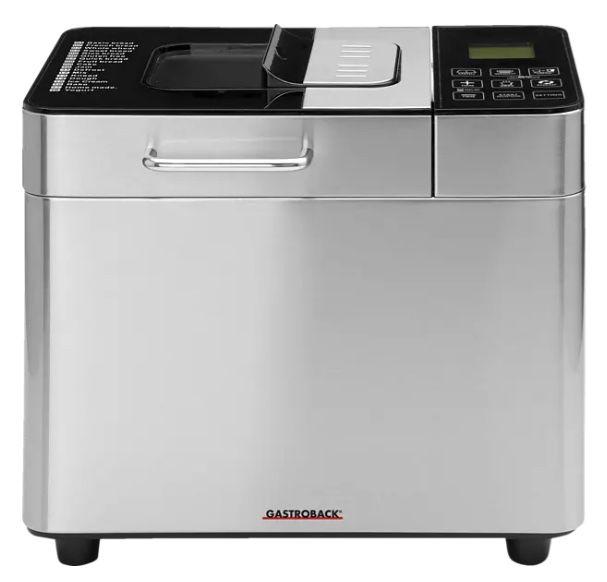 Gastroback Design Advanced Brotbackautomat für 99,43€(statt 114€)