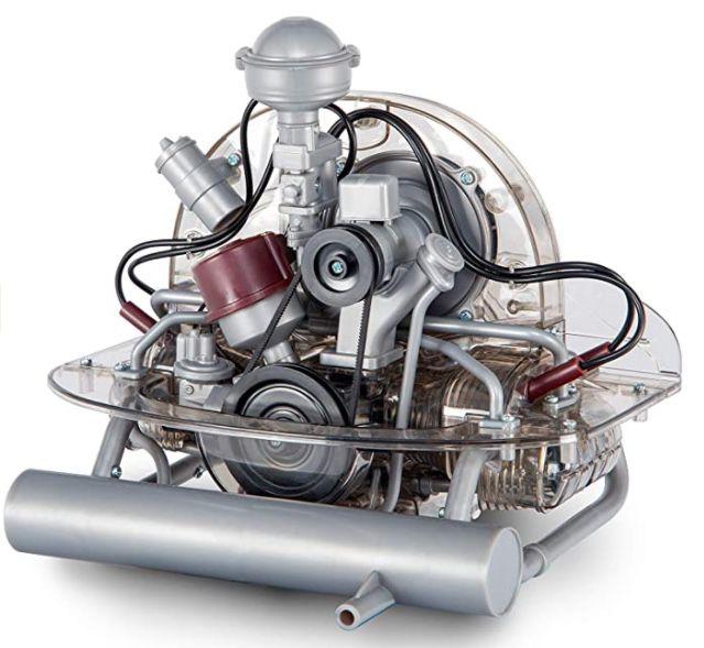 VW Käfer 4 Zylinder Boxermotor Funktionsmodell mit 200 Teilen für 104,95€ (statt 127€)