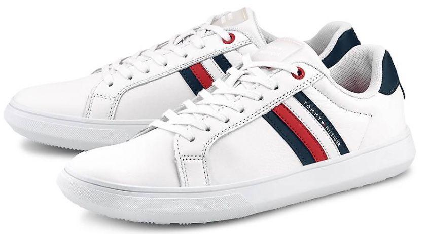Tommy Hilfiger Essential Leather Cupsole Sneaker für 47,98€ (statt 78€)