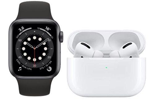 Apple Watch 6 44mm + Airpods Pro für 4,95€ mit Vodafone Allnet Flat inkl. 15GB LTE für 34,99€ mtl.