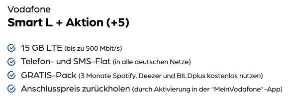 Apple iPhone 12 64GB für 219,95€ + Vodafone Allnet Flat mit 15GB LTE für 34,99€ mtl.