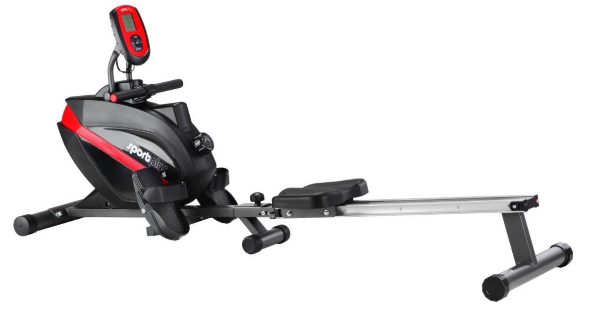 SportPlus SP MR 008 B Rudermaschine mit 8 Stufen für 224,95€ (statt 310€)