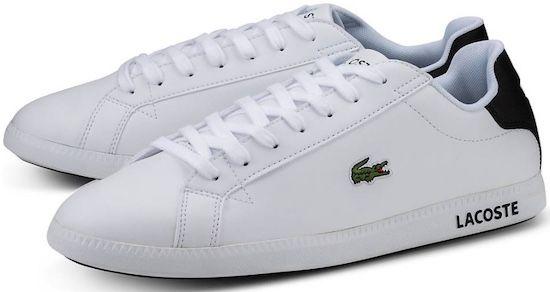 Lacoste Graduate Leder Sneaker für 47,98€ (statt 67€)