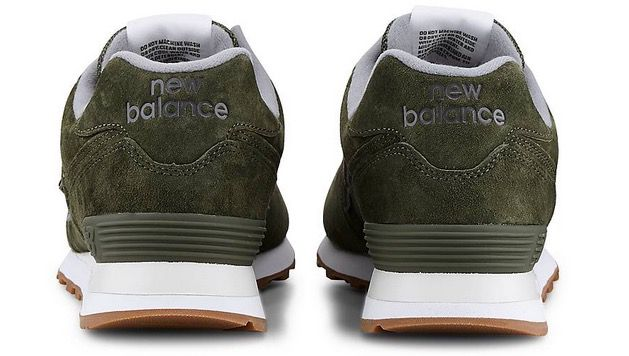 New Balance Retro Sneaker 574 in Khaki für 55,98€ (statt 75€)
