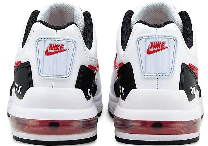 Nike Air Max LTD 3 Leder Sneaker in Weiß Rot für 76,80€ (statt 96€)