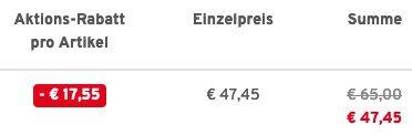 Lerros Herren Steppjacke in 3 Farben für je 47,45€ (statt 80€)