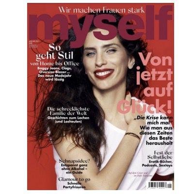 GRATIS! 4 Ausgaben myself Frauen Magazin ganz ohne Prämie