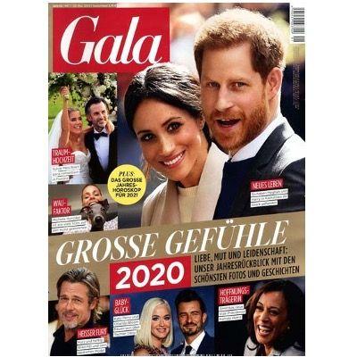 Gala Jahresabo mit 51 Ausgaben für 188,70€ + Prämie: 120€ Amazon-Gutschein