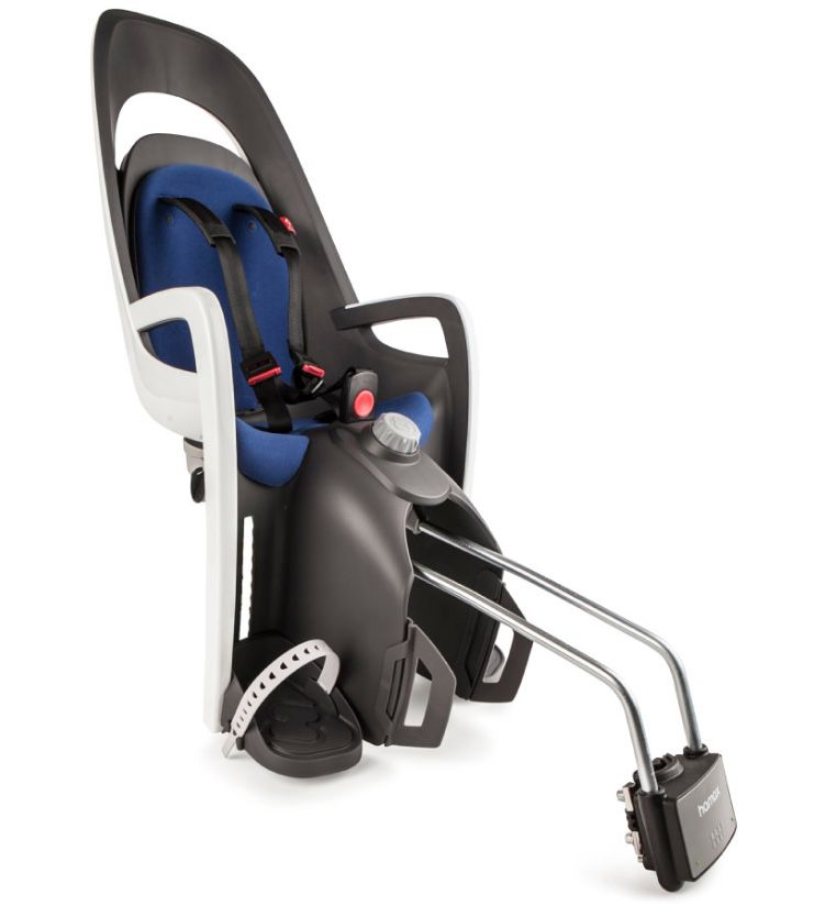 hamax Fahrradsitz Caress mit Gepäckträgeradapter für 74,99€ (statt 99€)